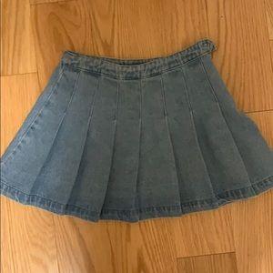 Forever 21 denim skirt :)